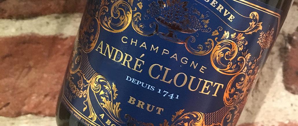 André Clouet Grande Réserve - Gott från Champagne