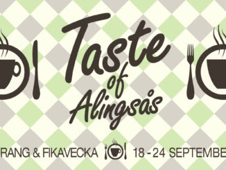 Taste of Alingsås -Restaurang & Fikavecka 18-24 sept