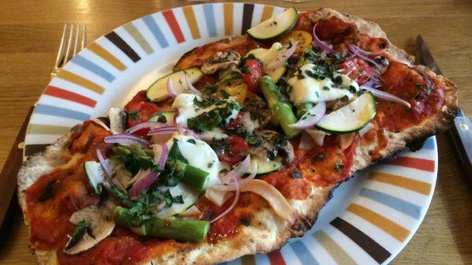 Grillad pizza