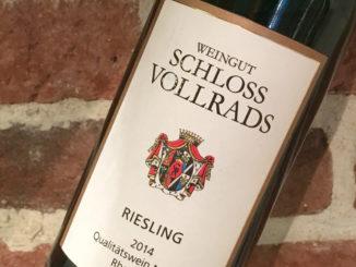 Schloss Vollrads Riesling - Vin med anor från 1200-talet
