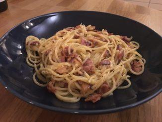 Annandagspasta - Spaghetti Carbonara