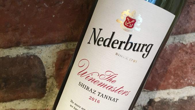 Nederburg The Winemasters Shiraz Tannat -Prisvärt från Sydafrika