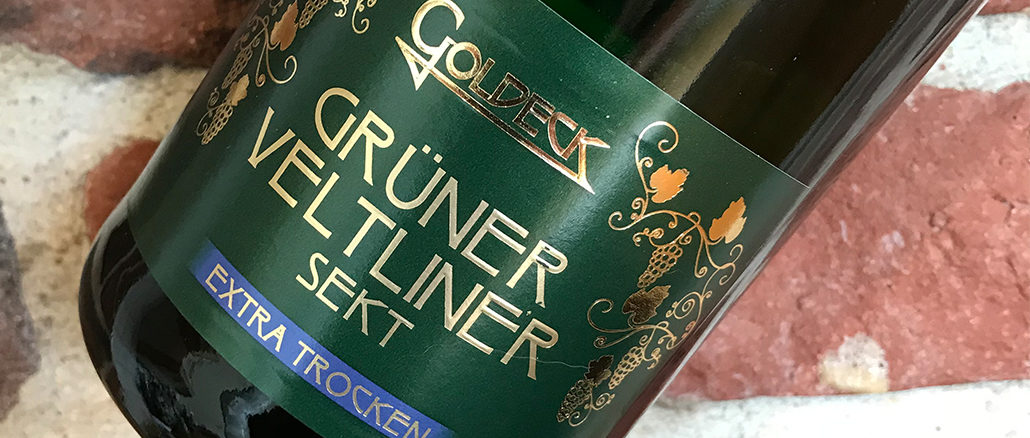 Goldeck Grüner Veltliner -Bubbel från Österrike
