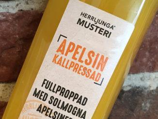 Herrljunga Musteri kallpressad apelsinjuice -Naturligt fräsch
