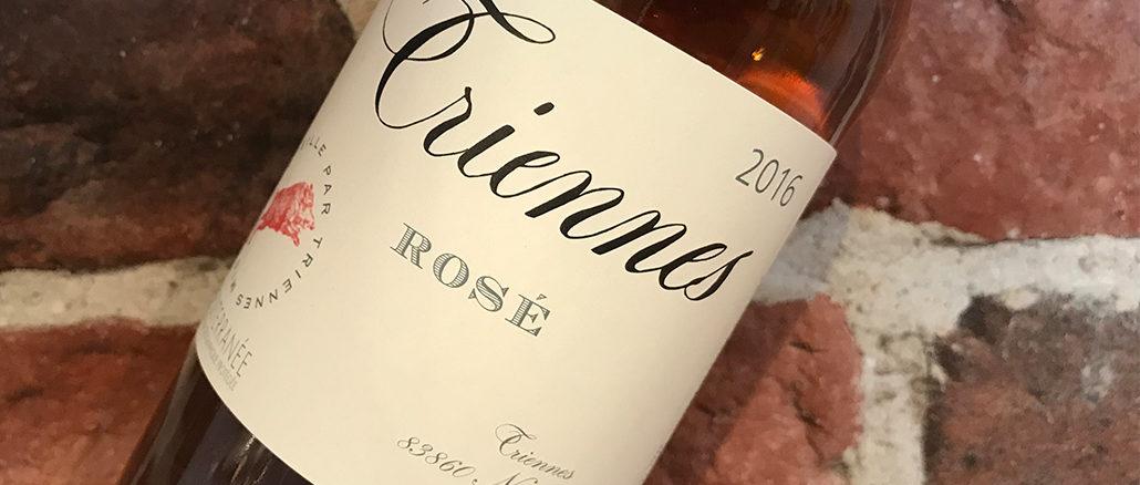 Triennes Rosé 2016 från Provence -Tillfälligt på hyllorna
