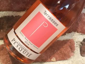 Terrasses -Välgjord rosé från Côtes du Ventoux