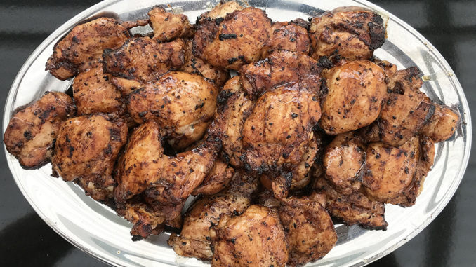 Grillade kycklinglårfiléer