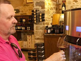 Enoteca Falorni -Ett måste för vinfantaster