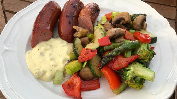 korv med grönsaker