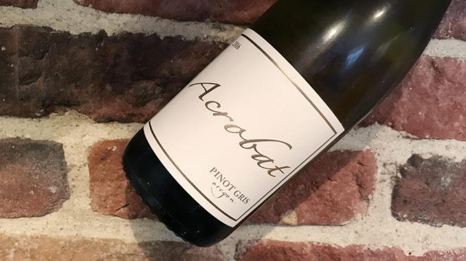 Acrobat Pinot Gris -Fräscht vin från Oregon