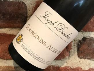 Joseph DrouhinBourgogne Aligoté -Härlig mångsidig Bourgogne