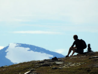 Meditation på berget Njullá