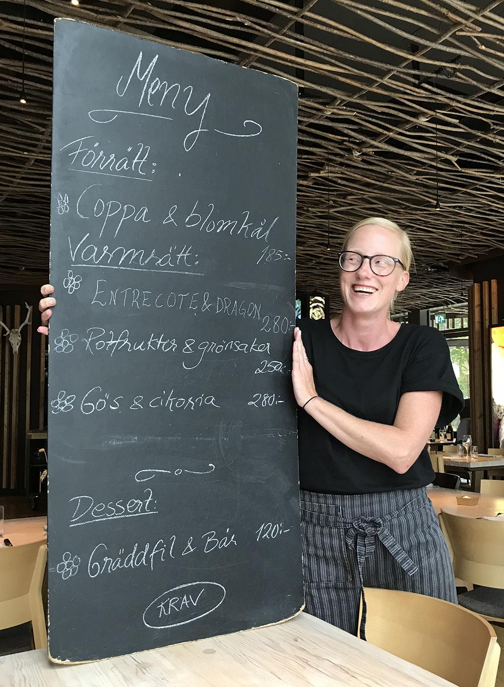 Hvita Hjorten - Sommelier Linda Trossvik