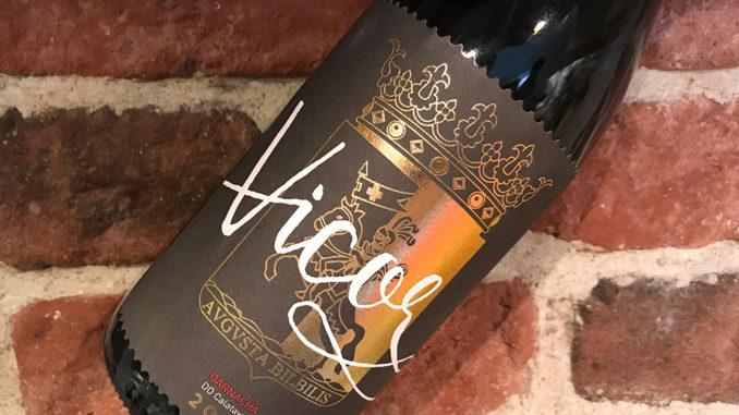 Vicor Garnacha -smakrikt från Aragonien