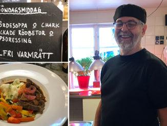 Vigrum Krog & Café -mitt ute på slätta.