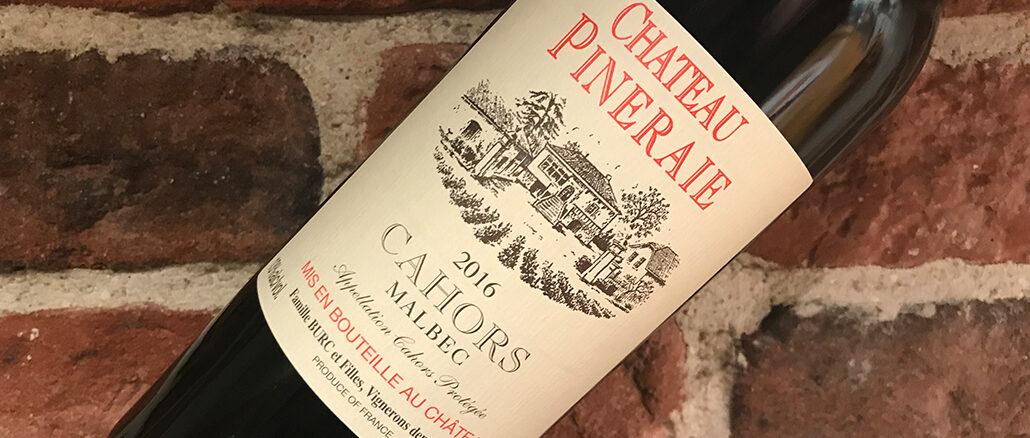 Château Pineraie Malbec -en tuffing från Cahors