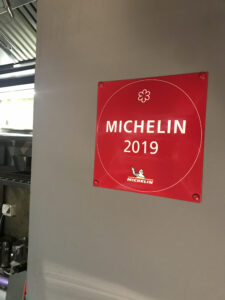 Guide Michelin One Star 2019