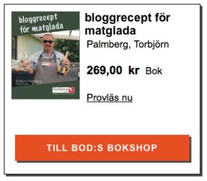 bloggrecept för matglada -annons