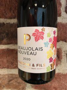 Beaujolais Nouveau 2020 -front