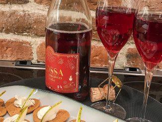Blossa Sparkling & Spices Classic Red -röda julbubblor