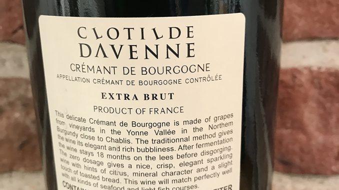 Crémant de Bourgogne-back