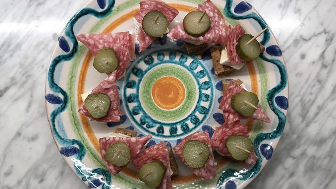 Minimackor på pinne