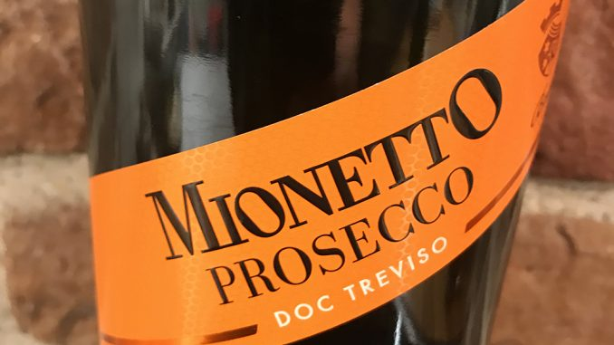 MionettoProsecco Brut -front