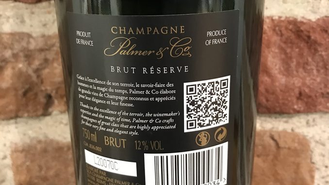 Palmer & Co Brut Réserve -back