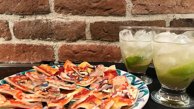 Caipirinha & pizzaskärvor -läskande och gott