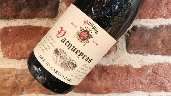 Bonpas Vacqueyras Le Grand Cartulaire -härligt från södra Rhone