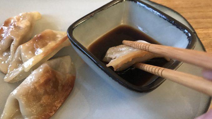 Japanska dumplings med kyckling