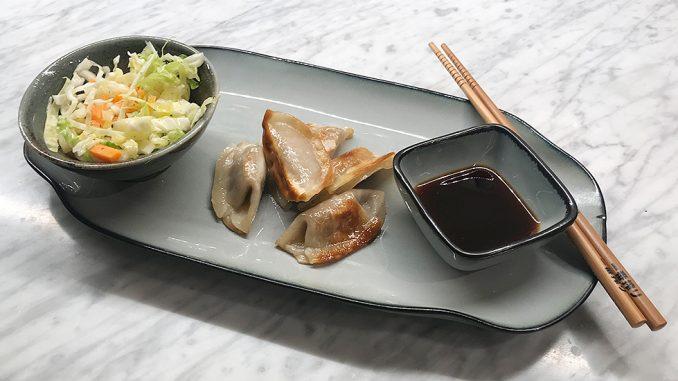 Japanska dumplings med kyckling -lättlagad kvällsmat