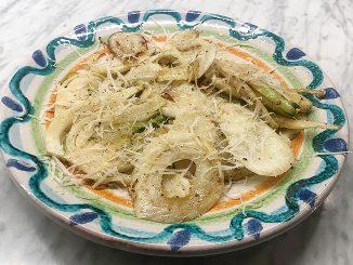 Smörfräst fänkål med vitlök och parmesan -onödigt gott