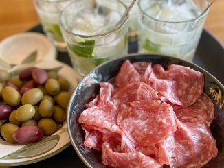 Caipirinha med tryffelsalami & oliver -perfekt fördrink