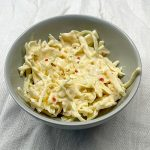 Coleslaw med chiliflakes