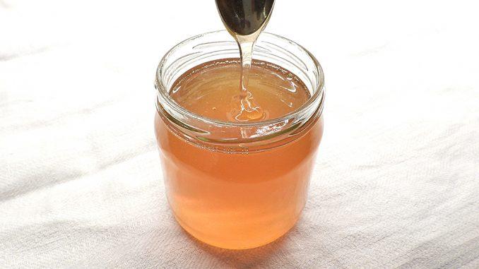Nyslungad honung från Östergården