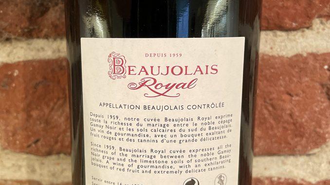 Beaujolais Royal -back