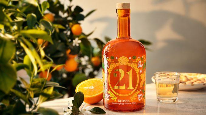 Blossa 21 med apelsin -pressbild Altia Sweden AB