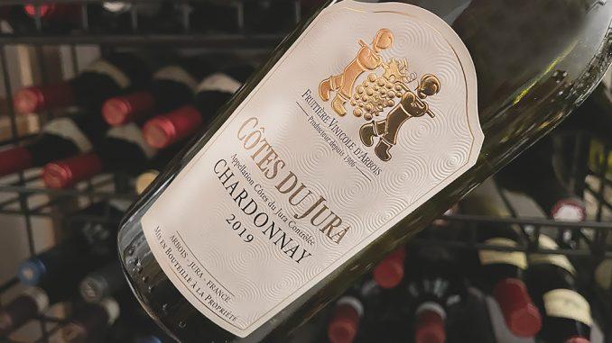 Cotes du Jura Chardonnay -fräscht och fylligt